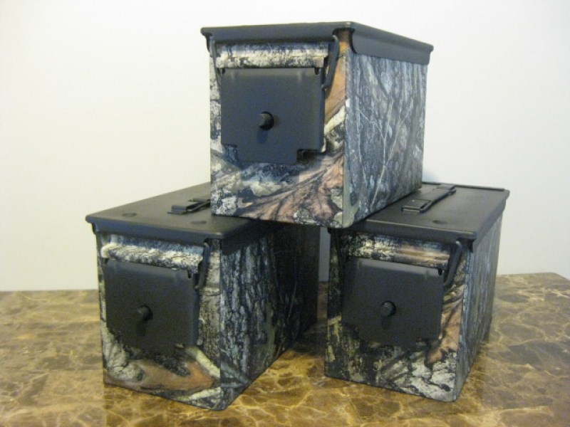 True Timber Conceal Hydro Dipped  50 cal case - The Can Man