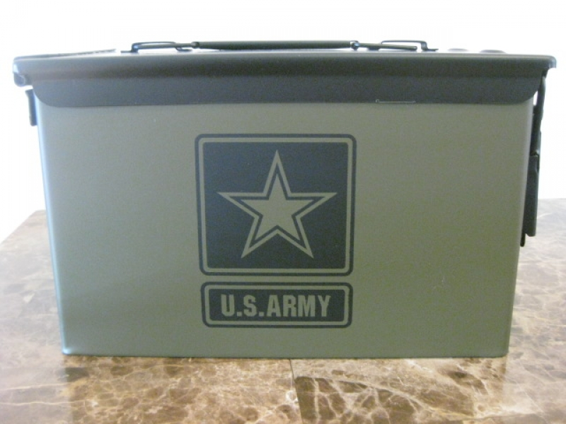 ammo can handgun case very cool double gun 50 ammo box 50 cal