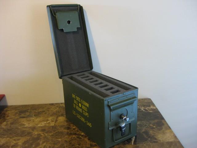 Auto Paint Colors >> AMMO CAN HANDGUN CASE, VERY COOL, DOUBLE GUN, .50 AMMO BOX ...