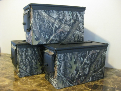 True Timber Conceal Hydro Dipped .50 cal case